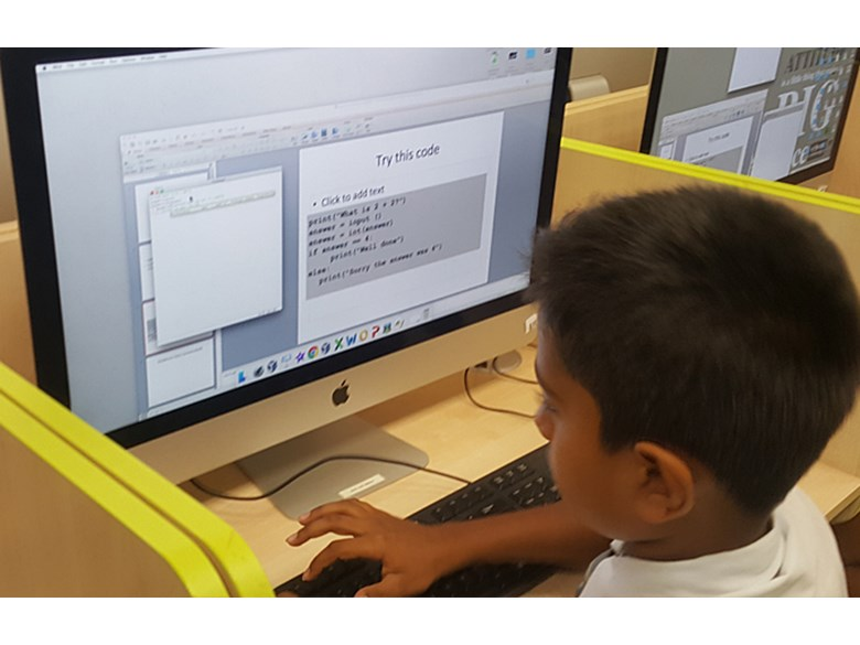 Computer Coding in Classroom