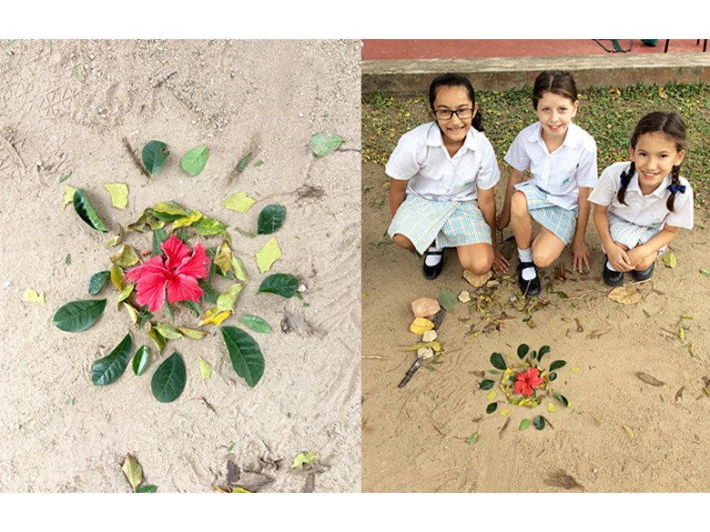 Art Challenge ECA Andy Goldsworthy