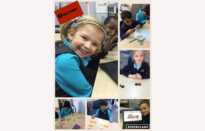 Getting to grips with fractions in Year 1