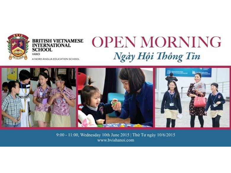 BVIS Open Morning 10th June