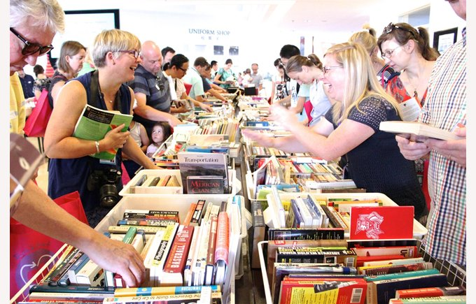 Roundabout Book fair