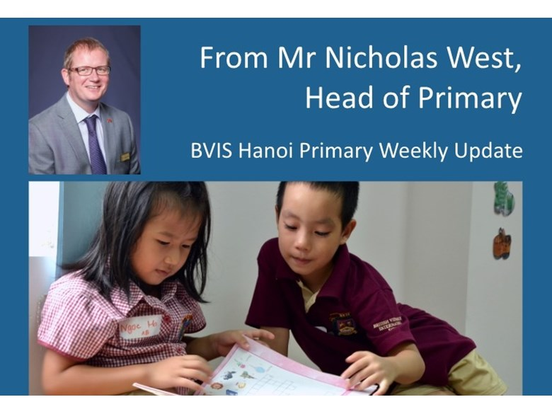 BVIS Primary Weekly Update 20150828