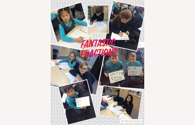 Fantastic Fractions in Year 4