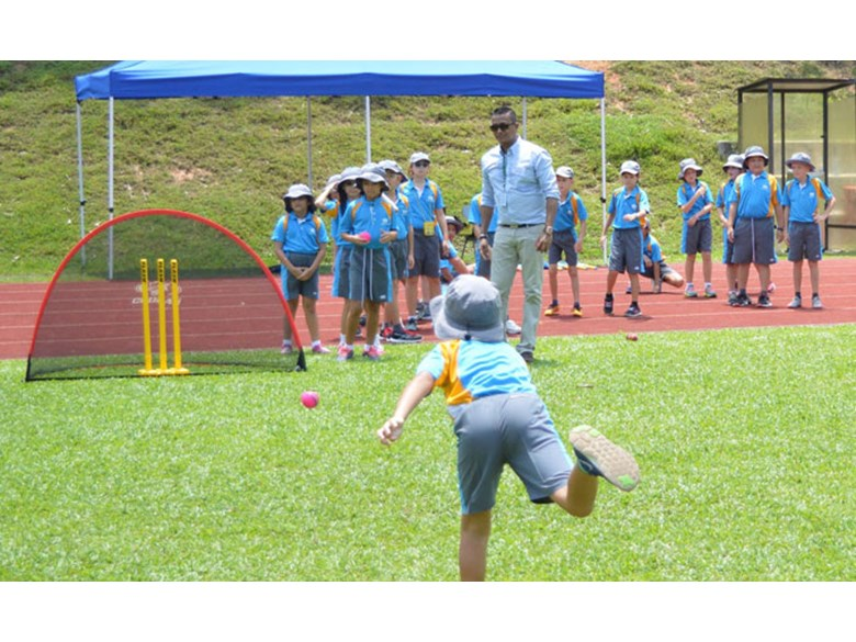 Cricket Open Day at DCIS