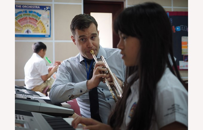 British International School Hanoi Juilliard