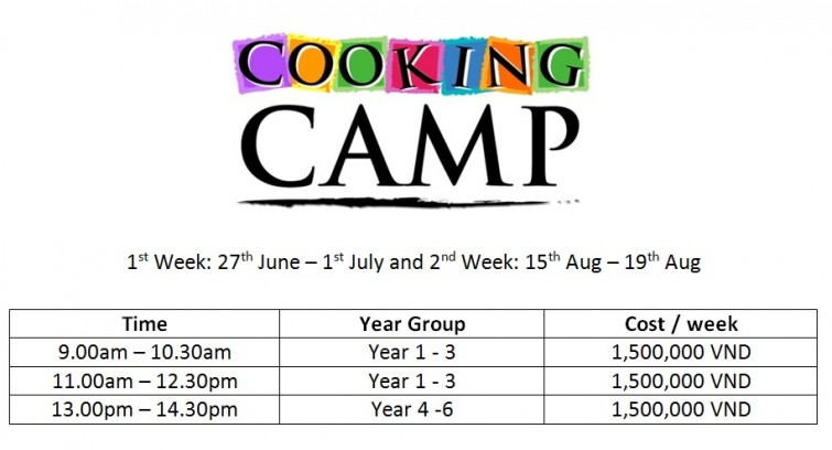 Cooking camp 2