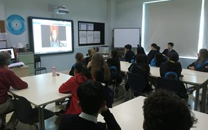 Year 9 video chat with Joplin Tornado survivor