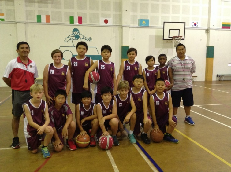 An Phu Primary Boys Basketball Team