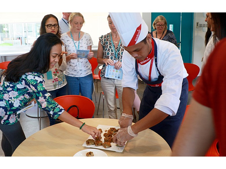 Brain Friendly Foods Coffee Morning with Sodexo