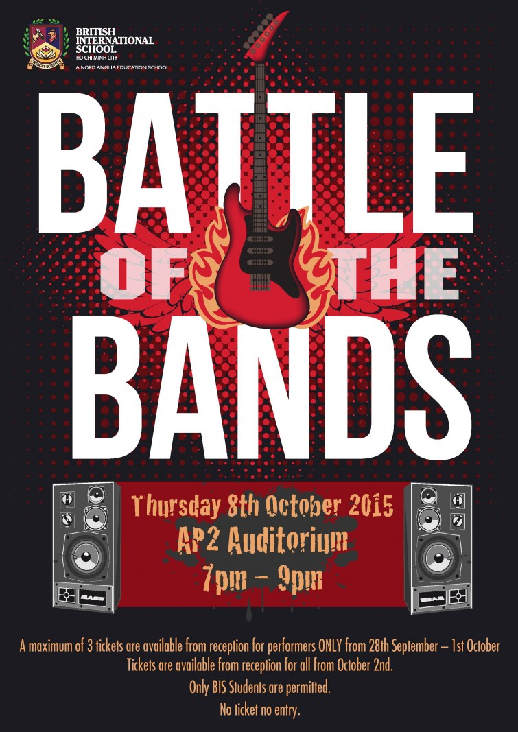 BISHCMC Battle of the Bands 2015