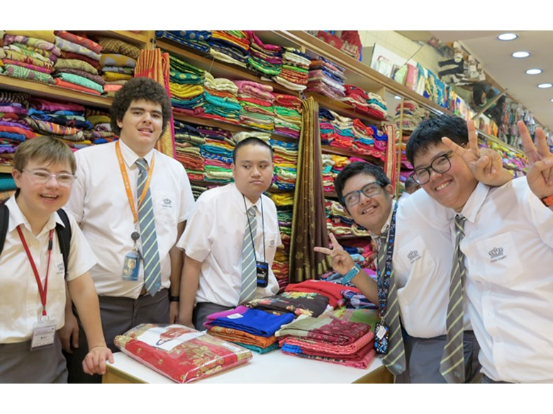 INRL Students Visit Little India