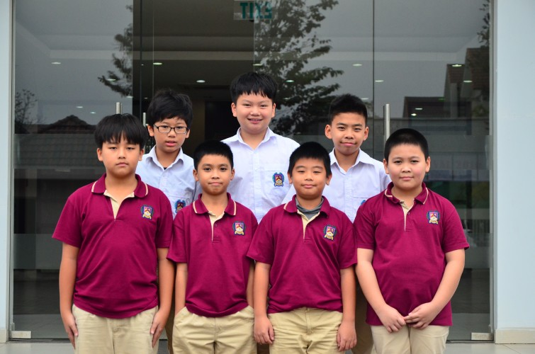 BIS Hanoi under 11 Boys Team