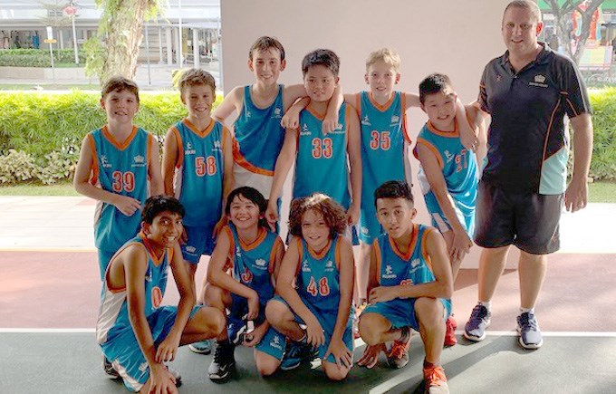 Dover Court International School Singapore, Under 12 Boys Basketball ACSIS Champions