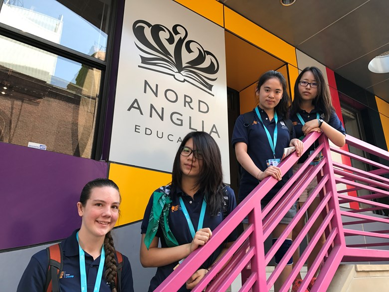 4 BSB students at Nord Anglia Global Goals Summit in New York