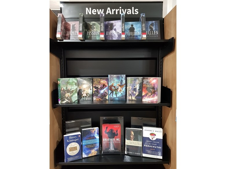 new library books