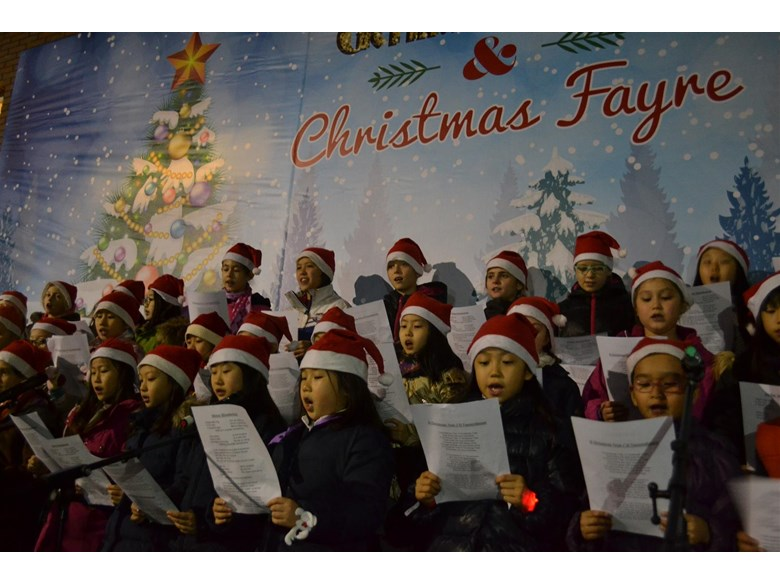 Christmas Fayre 2015 Choir
