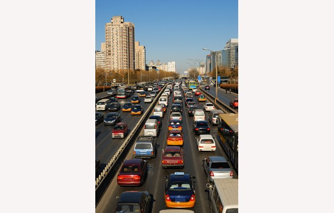 Heavy Beijing Traffic