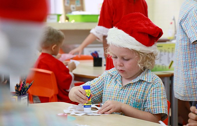 Christmas Art with 1GD and 5JO