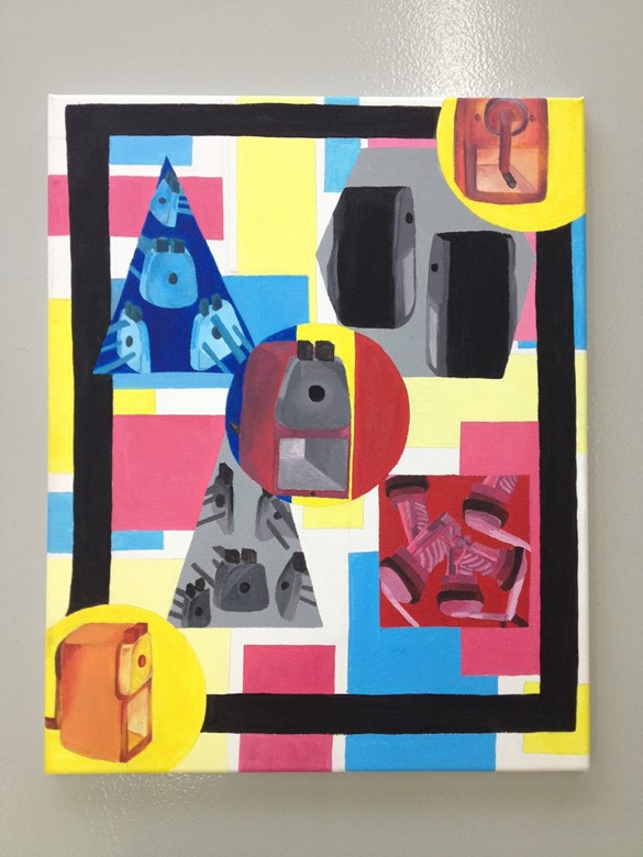 Year 12 Visual Arts students completed their object studies