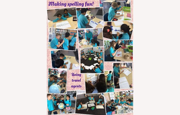 Year 5 making spelling fun