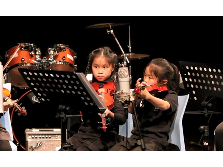 Students at BISS Puxi perform in the Winter Concert