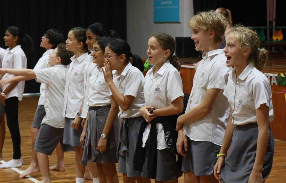 Dover Court International School Singapore Drama Workshop with Centre Stage