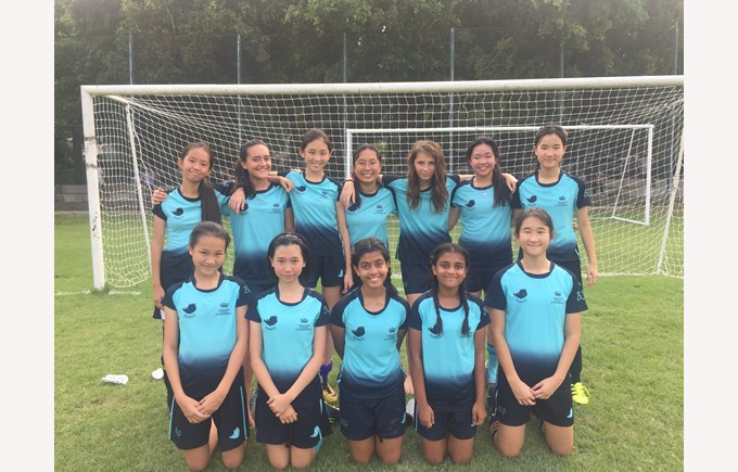 U14 Girls Football 2018