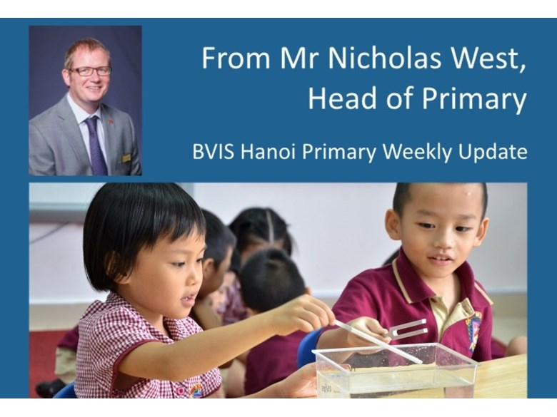 Primary weekly update 20150918