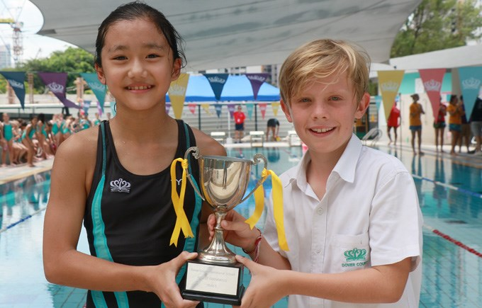 Swim Gala Year 5 Winners Newton