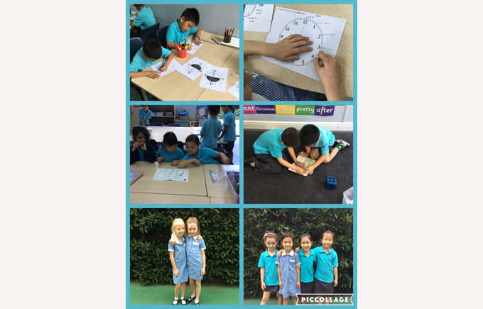 Telling the time and building friendships in Year 2
