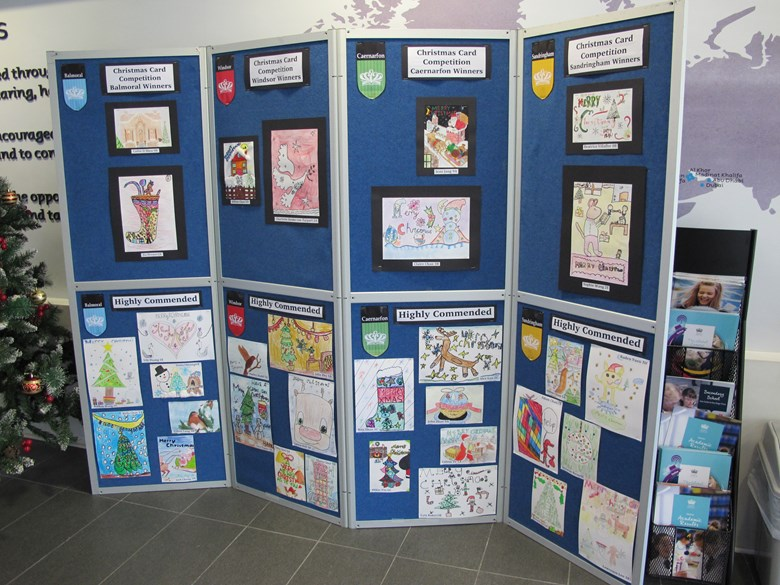 Inter-house Christmas Card Competition