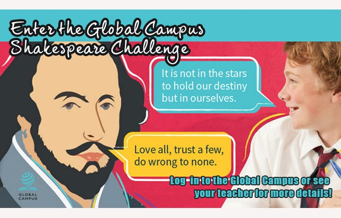 Global Campus Shakespeare Challenge