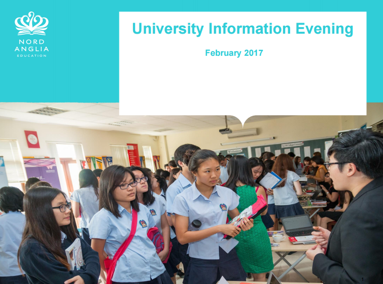 University Information Evening BIS HCMC