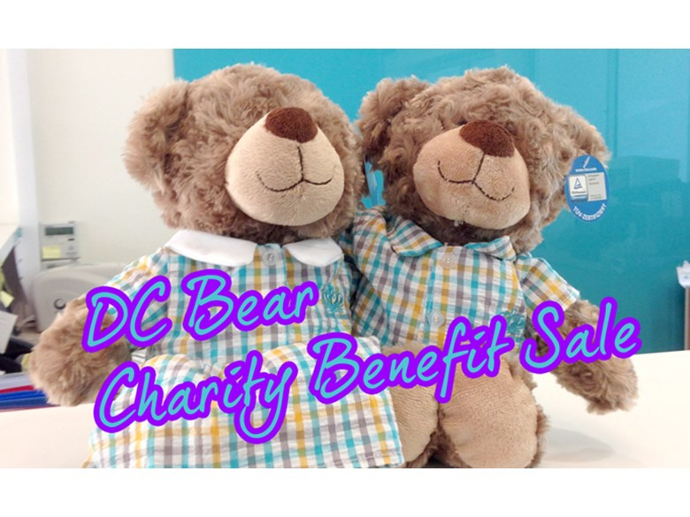 DC Bear Charity Benefit Sale
