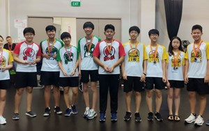 Intermediate Saigon Maths Competition Winners