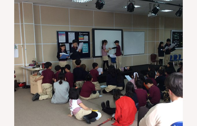 British International School Hanoi - Shakespeare Performance