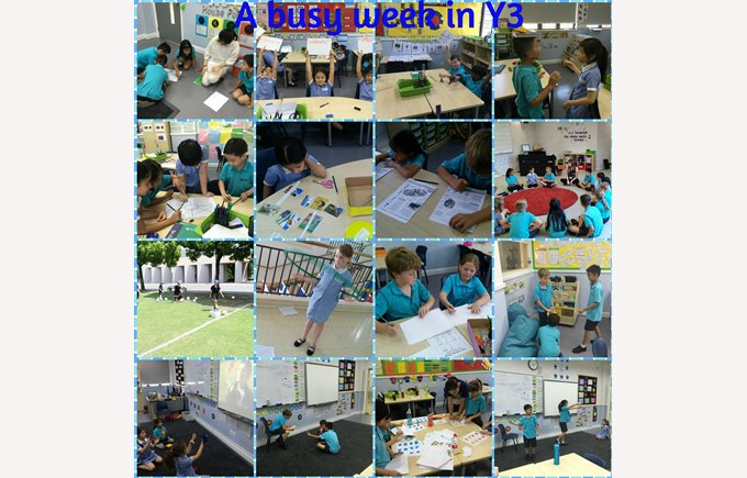 A busy week in Year 3