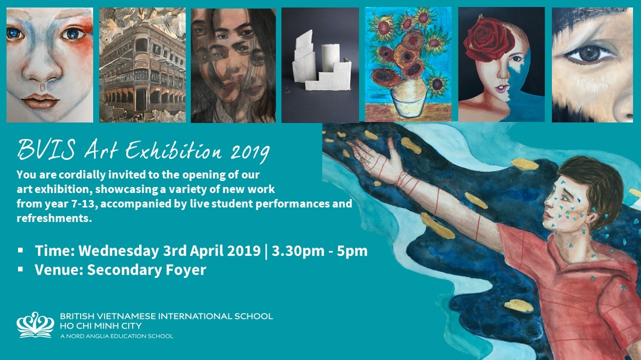 Secondary Art Exhibition 2019 | BVIS HCMC | Nord Anglia