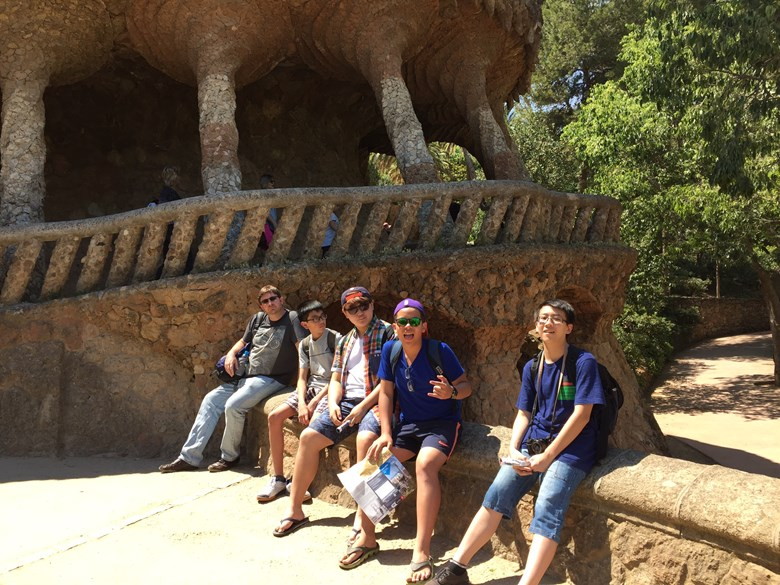 British International School Hanoi Spanish trip Barcelona