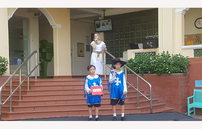 BIS Ho Chi Minh Year 5 Step Back in Time - 8