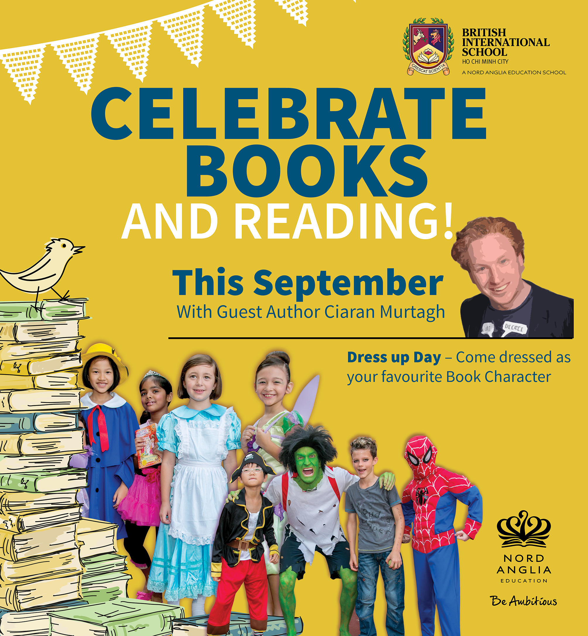 Book Week at APP and TX this September