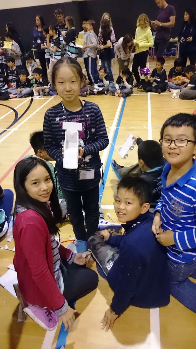 BIS Tu Xuong Primary Students competing in FOBISIA Maths Competition, Shanghai 2015