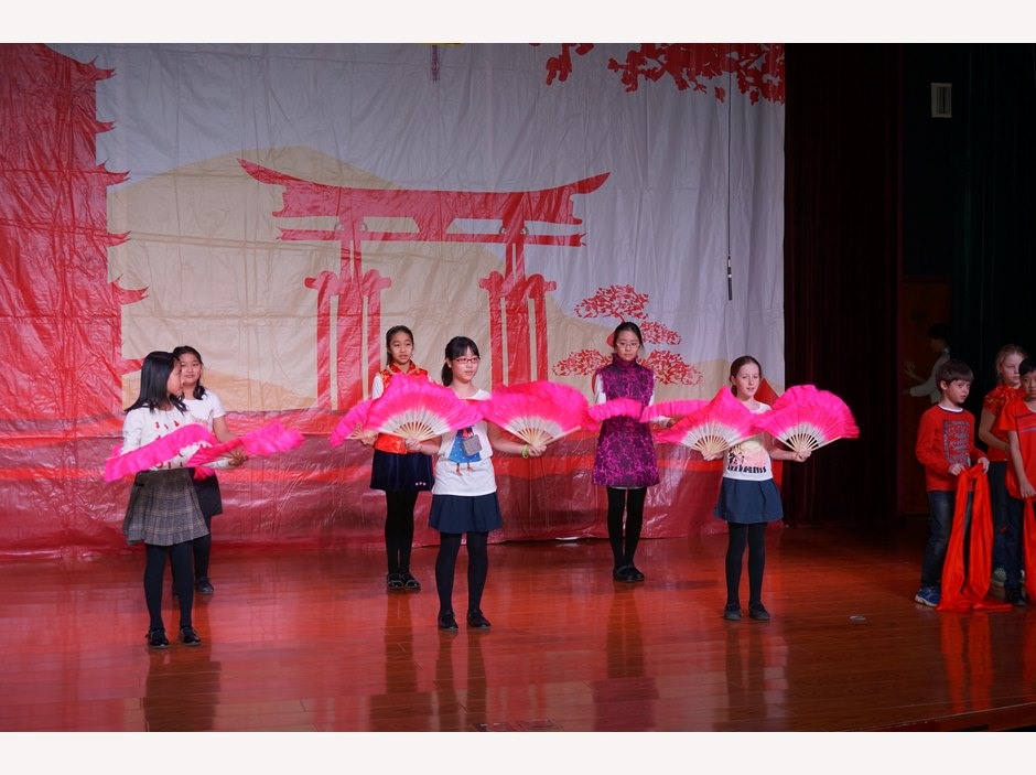 Chinese New Year - Fan Dancing