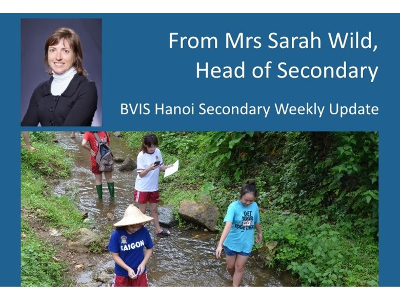 BVIS Hanoi Secondary update 12 June