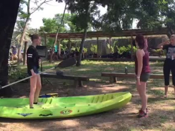 Y11 residentials Video Canoe