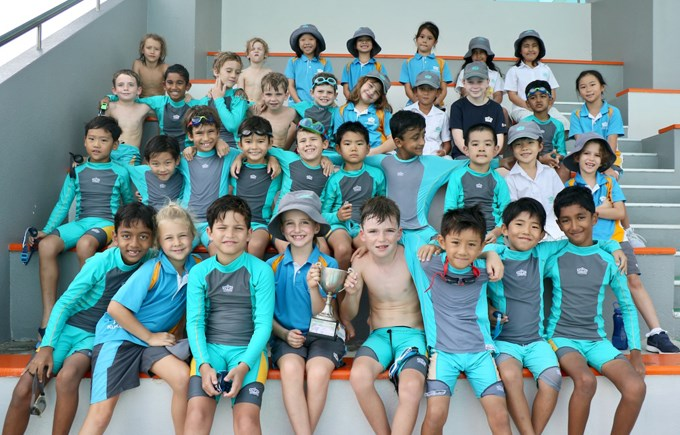 Dover Court International School Singapore, Year 3 House Swim Gala Winners - Ubin