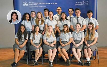 Dover Court International School Singapore DCIS Year 13 IBDP Graduating Class of 2020