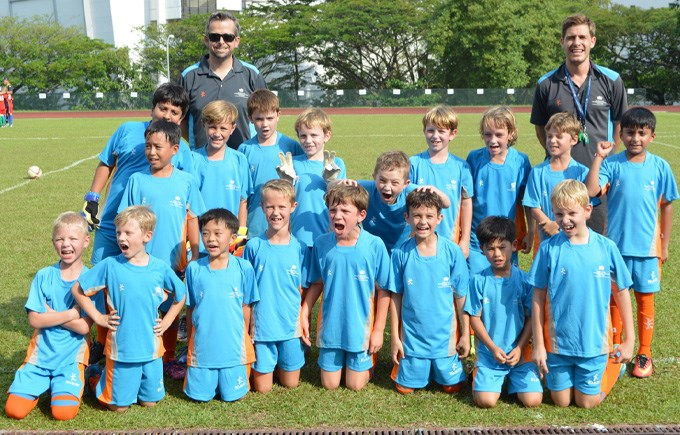 DCIS Under 9s Boys Football Teams Photo