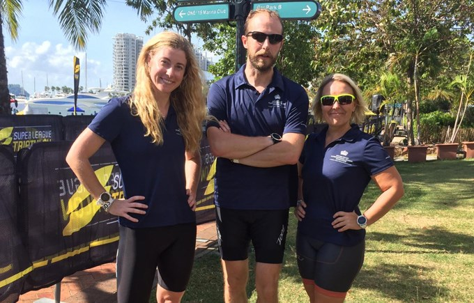 Dover Court International School Singapore staff super league triathlon