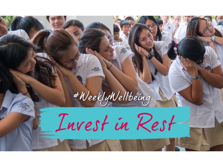 Invest in Rest - Weekly Wellbeing